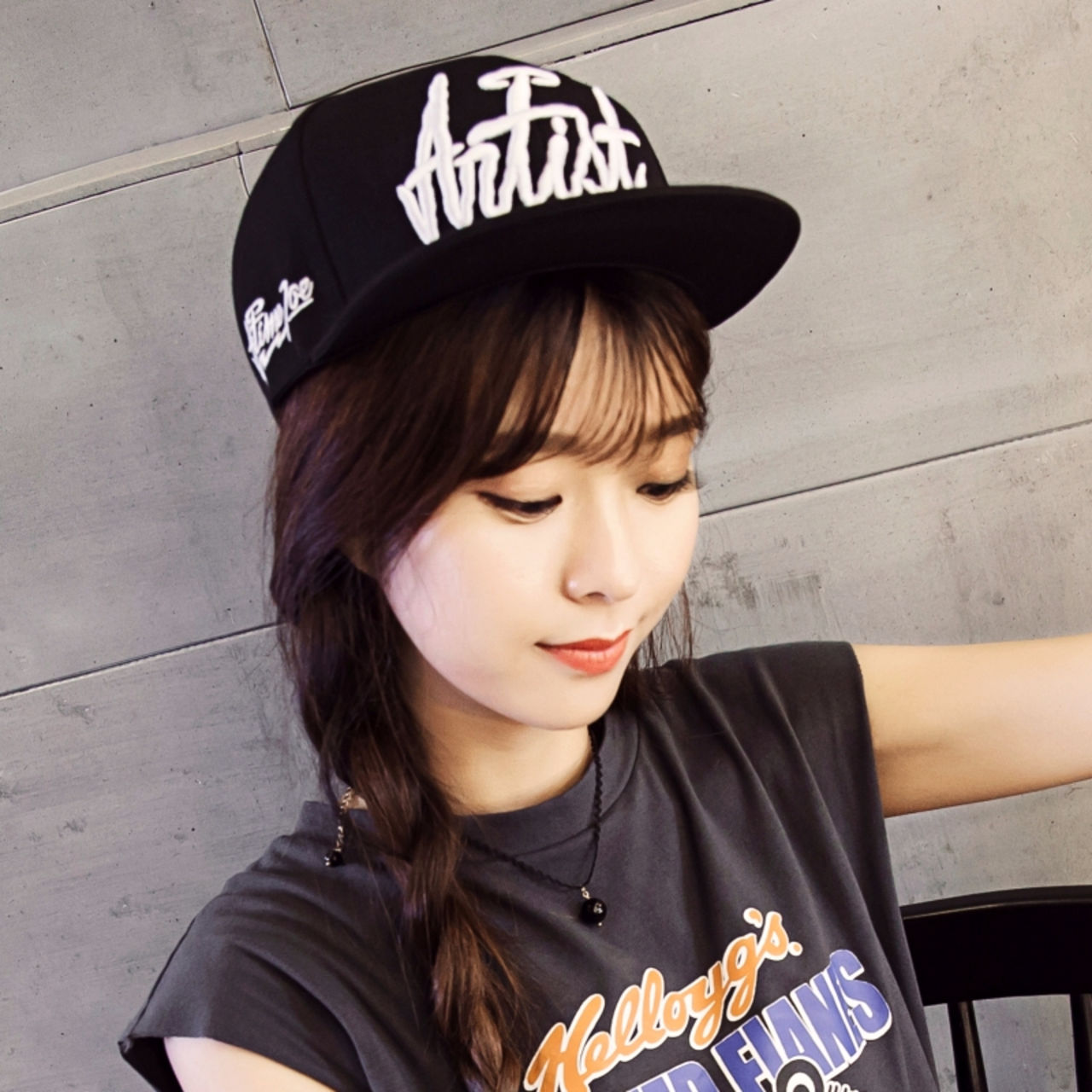 Korean fashion baseball cap 53